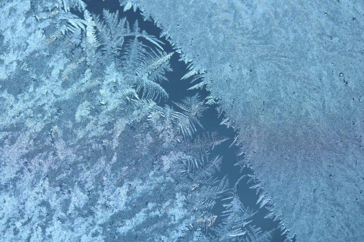 Eisblumen am Fenster! Welch schöner Wintergruß. Leider war es bisher der einzige dieser Art, Anfang Dezember.