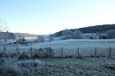 Anfang Dezember sah´s bei uns schön winterlich aus. Über Weihnachten soll´s regnen...