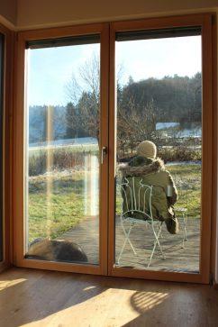 Pause in der Wintersonne - zuletzt schien sie hier bei uns vor ca. drei Wochen.