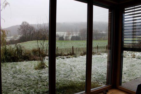 Schon zum zweiten Mal in diesem November hat es geschneit!
